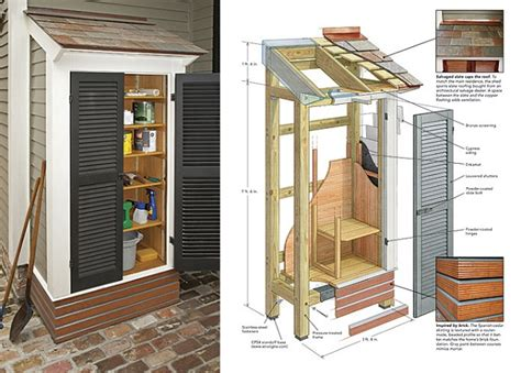Diy Small Garden Shed by Diy Small Stylish Shed Home Design Garden