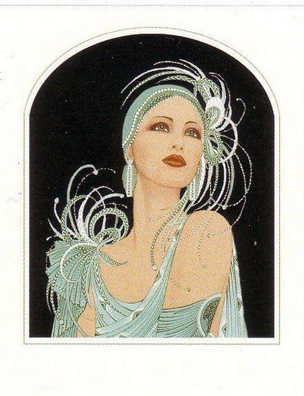 imagenes mujeres art deco 326 mejores im 225 genes de mujeres con sombreros en pinterest