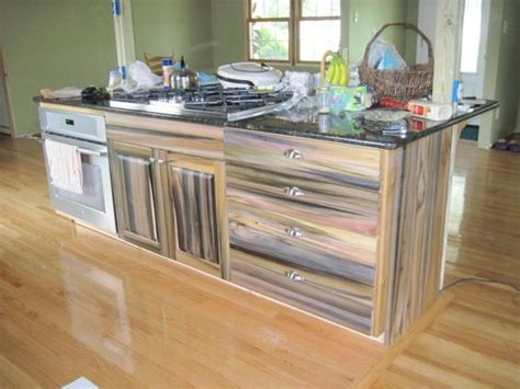 Build Kitchen Island Table reclaimed purple poplar kitchen island glemanandsons com