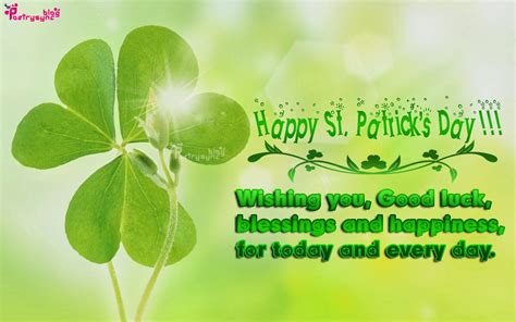 s day wishes st patricks day wishes quotes quotesgram