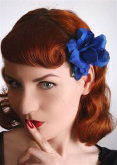 hairstyle pin ups pin up girl hairstyles for short hair