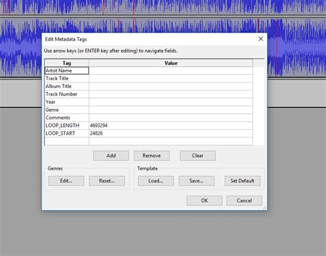 audio format in java java getting the metadata tags from a wave audio file