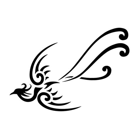 simple phoenix tattoo on tattoos bird and