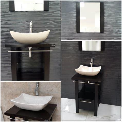 muebles minimalista mueble de ba 241 o minimalista lavabo con marmol y espejo