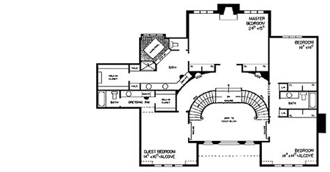 double staircase floor plans tudor manor with grand double staircase 81120w 2nd