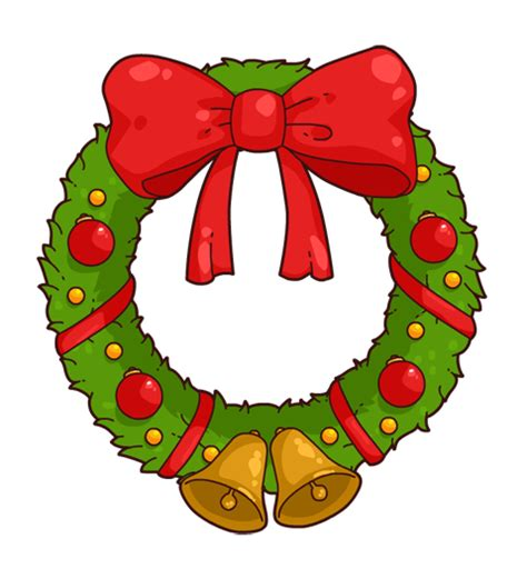 kids art christmas reefs free wreath clipart clipart suggest