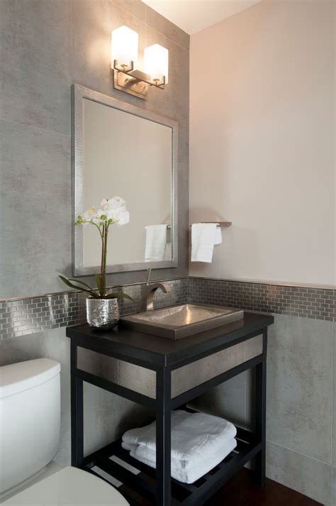 powder room vanity sink powder room sink powder room contemporary with brown stone