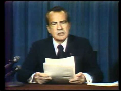Who Is The Only President To Resign From Office by Nixon Before Resignation And Speech August 8 1974