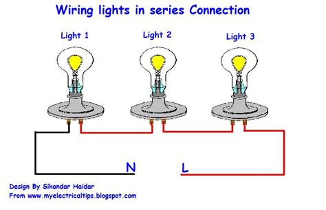 wiring diagram for lights in series free wiring