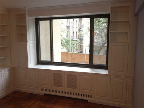 custom built  wall unit  radiator cover