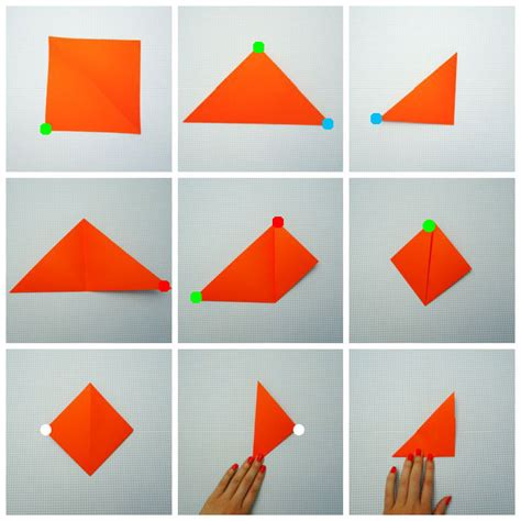 Interesting Paper Folds - origami fox origami for easy peasy and