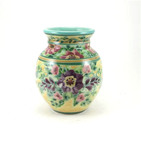 Pottery Flower Vases by Yellow Flower Vase Small Decorative Ceramic Bud Vase