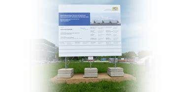 Bauschild Plane by Bauschild Mit Alu Verbundplatte Top Bauschilder