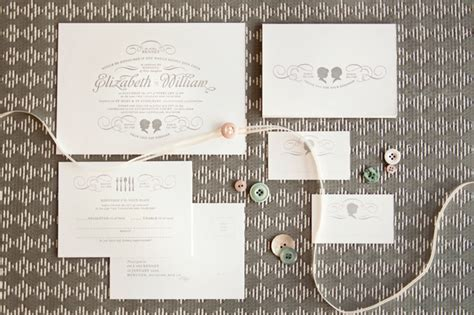 wedding invitations with silhouette cameo wedding invitations mitchell dent