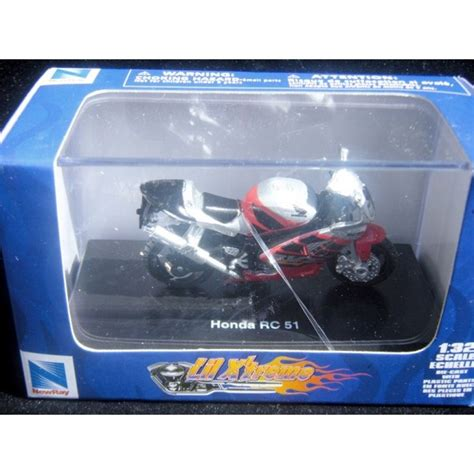 Die Cast Motor Honda Rc 51 new honda motorcycle rc 51 sport bike global diecast direct