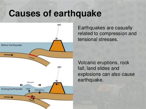 earthquake reason what causes earthquakes pictures to pin on pinterest