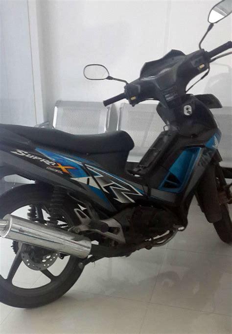 Dijual Supra X 125 dijual honda supra x cw silver blue jual motor supra x