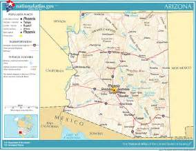 southwest arizona map printable maps reference