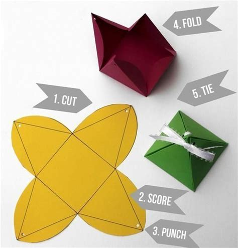 Handmade Paper Craft Gift Ideas - recycling paper craft ideas creating 8 small handmade gift