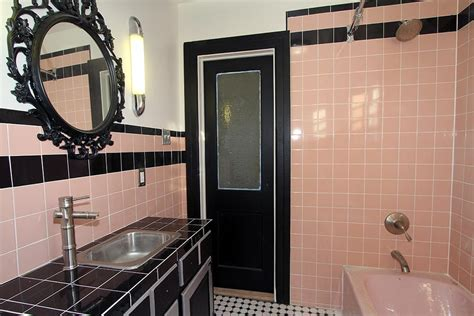 Modern Pink Tile Bathroom Where To Find Vintage Bathroom Tile Remember To Check