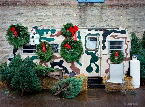the christmas tree lot chicago joseph kayne photography