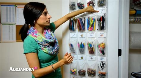 alejandra tv school supply organization how to organize small supplies