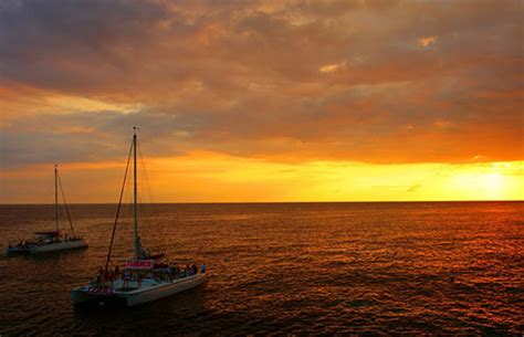 catamaran sunset tour jamaica riu montego bay catamaran sunset cruise adventure 90 00