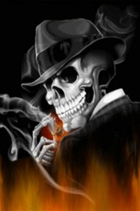 wallpaper for android gangster download gangster skeleton live wallpap for android appszoom