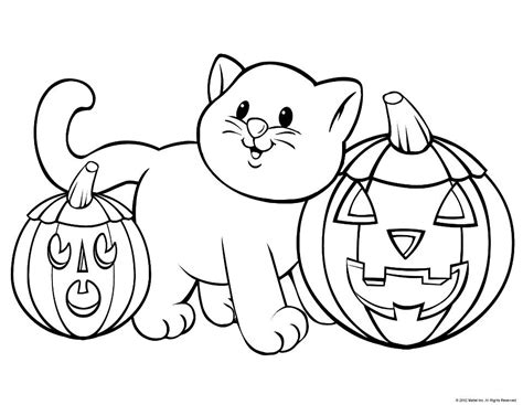coloring pages to print of halloween cute halloween coloring pages coloring home