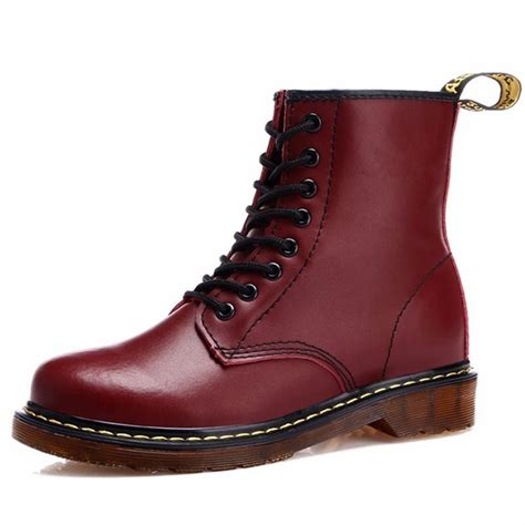Boots Dr Martin fashion 2015 winter leather dr martin boots fur martin