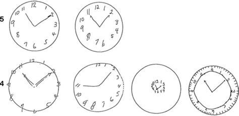 clock drawing test clock drawing test neupsy key
