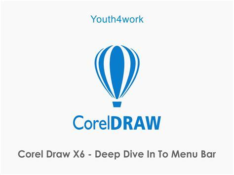 corel draw x6 online course corel draw online course