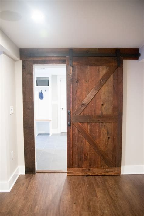 Sliding Barn Style Doors Barn Style Sliding Passage Doors Design Build Pros
