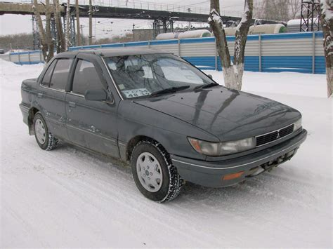 used 1989 mitsubishi mirage photos 1500cc gasoline ff automatic for sale