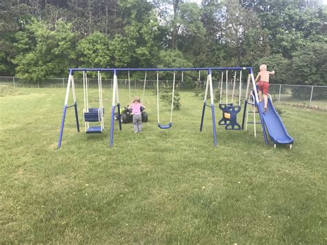 make a swing set 15 ways to make your backyard a perfect park for kids