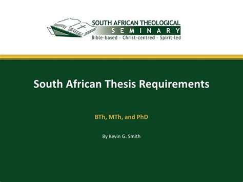 theses and dissertations database south africa south thesis requirements