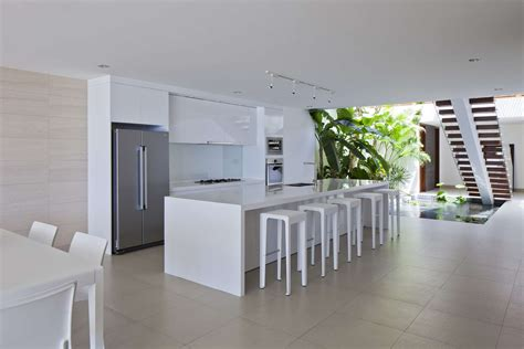 Open Air Kitchen by Villas Offer Spectacular Views And