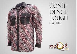 Batik Kemeja 211 confidence tough kemeja batik pria motif parang