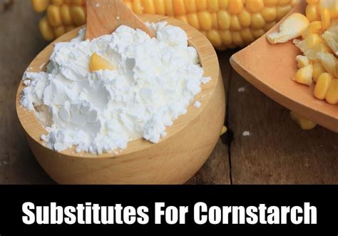 substitutes for cornstarch kitchensanity