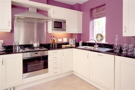 Kitchen Paint Lilac Kitchen D 233 Cor Lavender Lilac And White Color Theme
