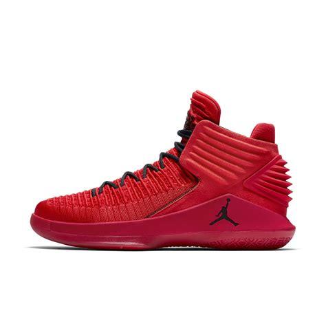 Sepatu Basket Air 32 High Rosso Corsa air 1 rosso