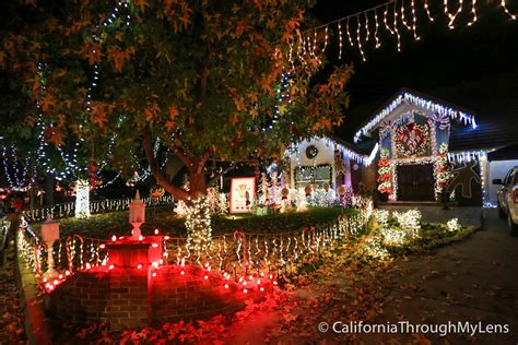 so calif christmas lights thoroughbred st lights in rancho cucamonga california through my lens