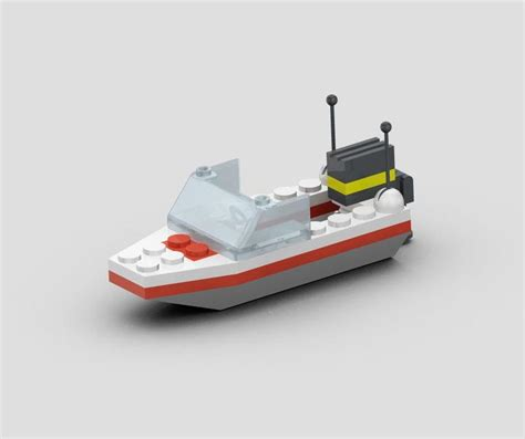 lego yacht tutorial lego model 1632 speed boat stl pro engineer wildfire