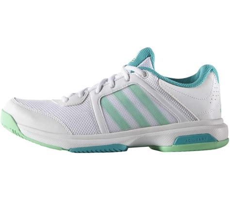 Adidas 5 Stripe White Solid Sport Shoes adidas barricade aspire stripes s tennis shoes white turquoise buy it at the keller