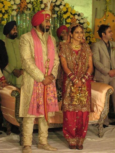 punjabi indian wedding dresses   Punjabi Wedding Suits