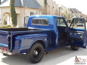 1967 chevy c10 step side bed up truck