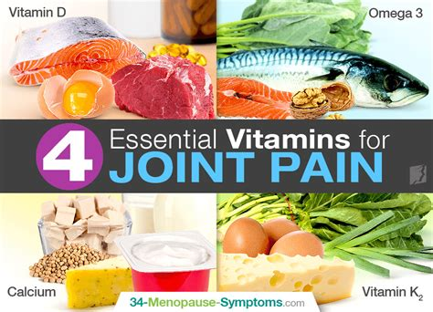 vitamin for joints 4 essential vitamins for joint