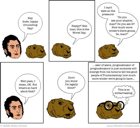 like groundhog day meaning groundhog day 09 thinkin lincoln a weekly webcomic