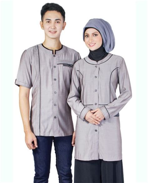 Baju Batik Couplebaju Muslim Couplebaju Trendy trend terbaru untuk baju muslim 2016 modern