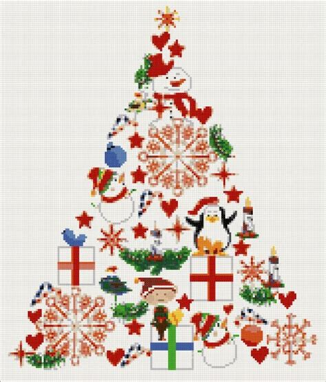 yiota s cross stitch christmas tree cross stitch kits